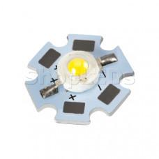Мощный светодиод ARPL-Star-1W-BCA Warm White