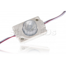Светодиодный модуль герметичный SL-3030-1 LED (120-140Lm, 1.5W, 12V)